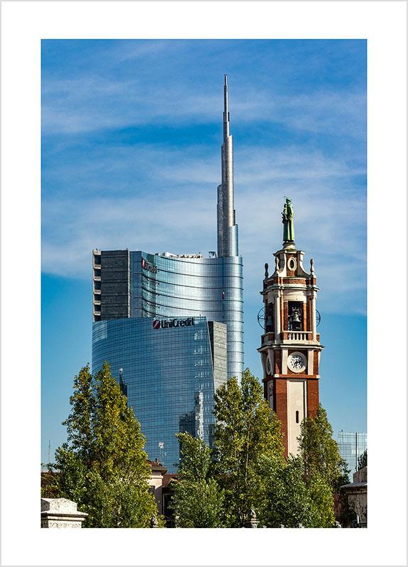 Franco Gualdoni_Meravigliosa Milano -Architetture a confronto - Il vecchio e il nuovo