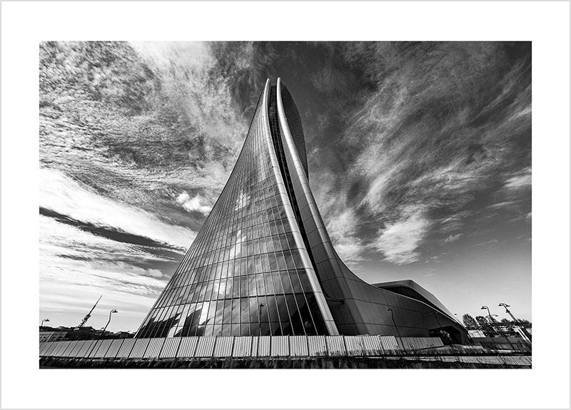 Franco Gualdoni_Meravigliosa Milano -CityLife - Torre Hadid
