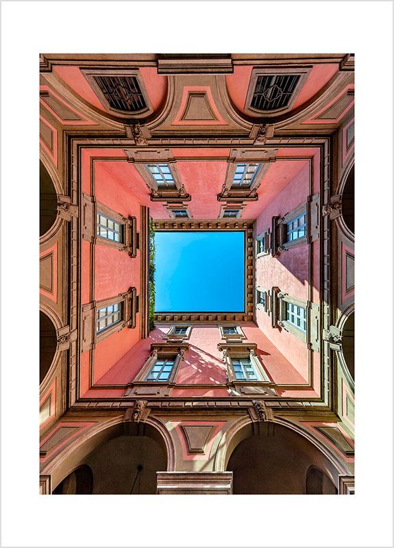 Franco Gualdoni_Meravigliosa Milano -Cortile del Museo Poldi Pezzoli