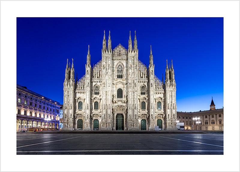 Franco Gualdoni_Meravigliosa Milano - Duomo con la luce dell'alba