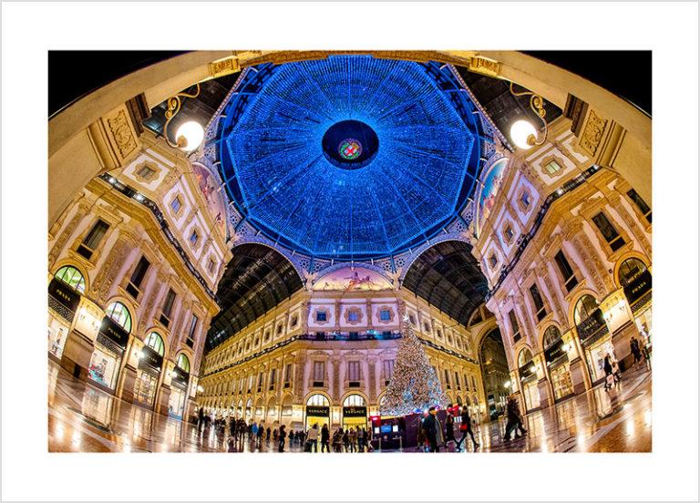 Franco Gualdoni_Meravigliosa Milano -Galleria Vittorio Emanuele II