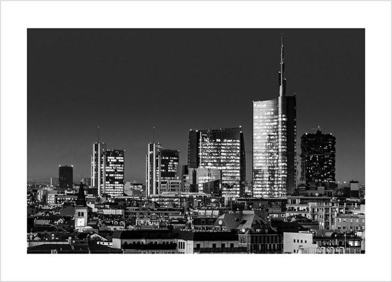 Franco Gualdoni_Meravigliosa Milano -Skyline di Porta Nuova