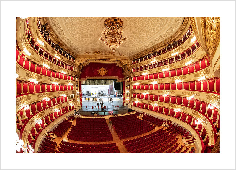 Franco Gualdoni_Meravigliosa Milano -Teatro alla Scala
